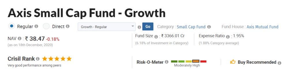Axis Small Cap Fund
